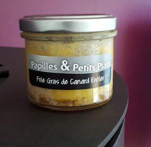 Foie gras canard entier Papilles et Petits Plats
